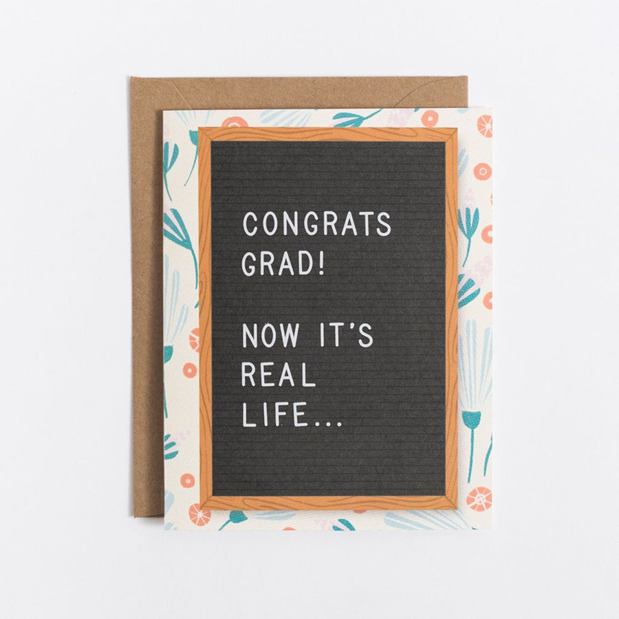 Scratch On ™ Letter Board Greeting Card (Set 1) - Letterfolk