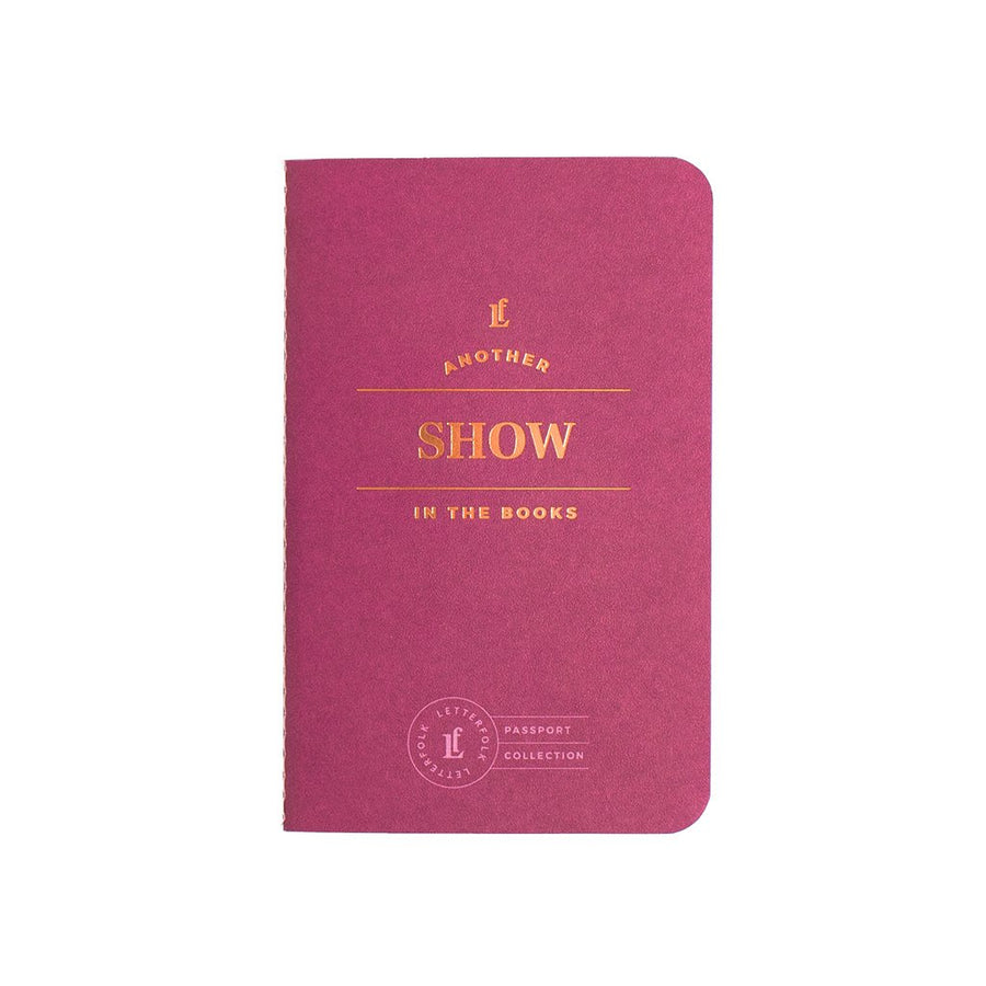Show Passport - Letterfolk