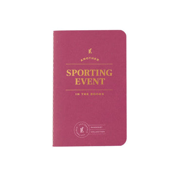 Sporting Event Passport - Letterfolk