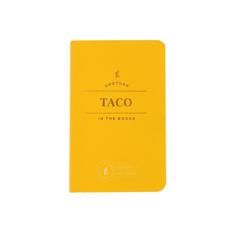 Taco Passport - Letterfolk