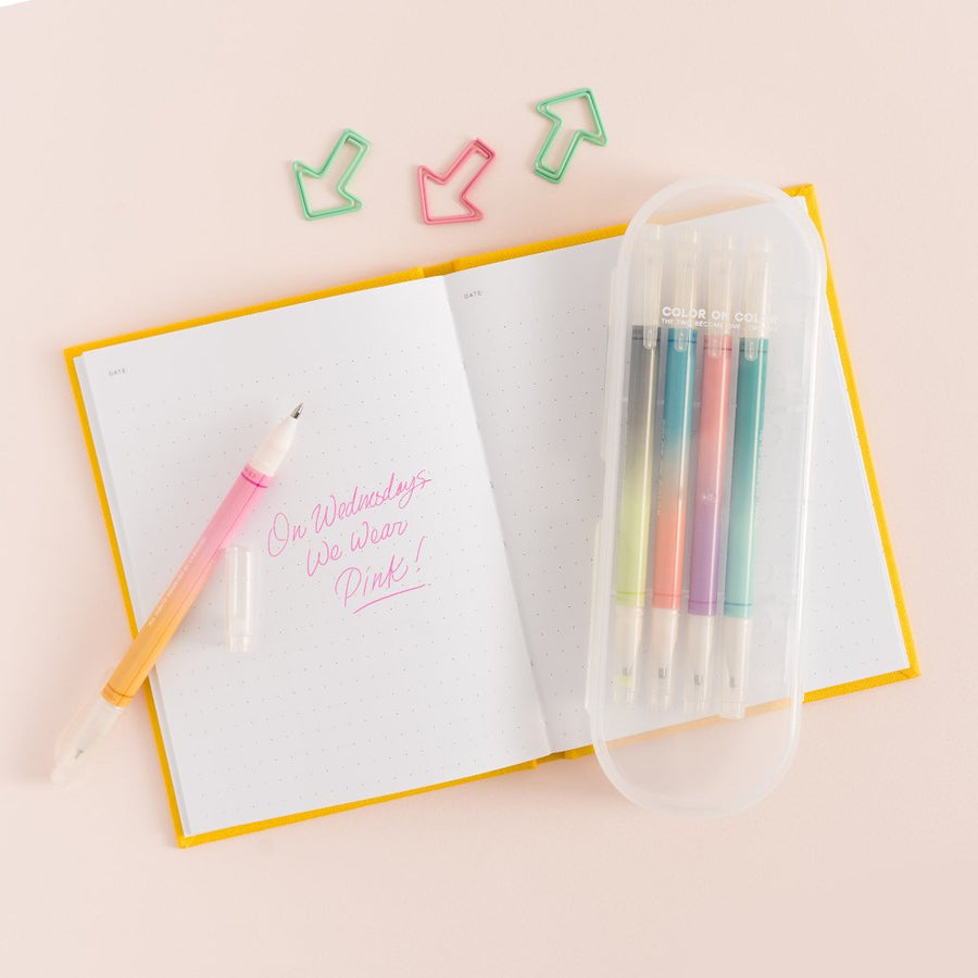 Duo-Color Gradient Pen Set - Letterfolk