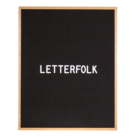 Wordsmith Oak letter board by Letterfolk