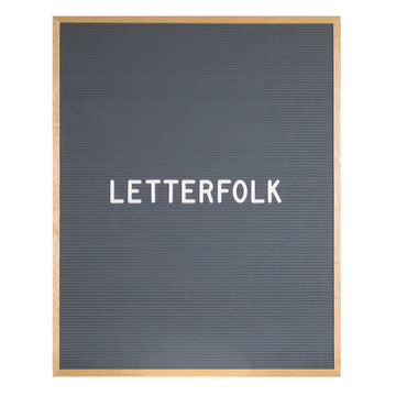 The Wordsmith Grey (Warehouse Sale) - Letterfolk