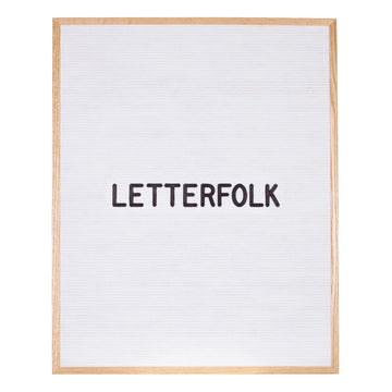 The Wordsmith White (Warehouse Sale) - Letterfolk