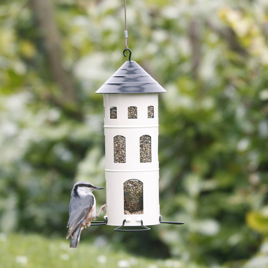 Steel Silo Bird Feeder - Letterfolk