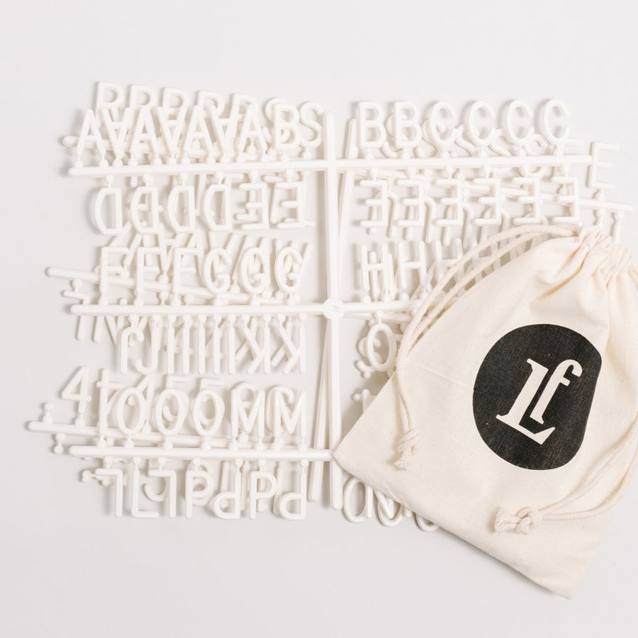 Additional Sans Letter Sets - Letterfolk