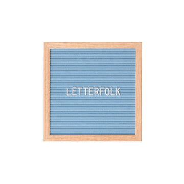 The Poet Blue (Warehouse Sale) - Letterfolk