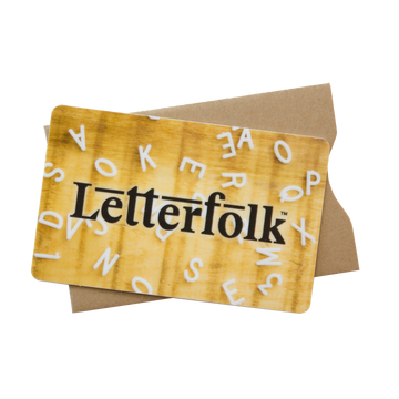 Letterfolk Gift Card (Physical) - Letterfolk