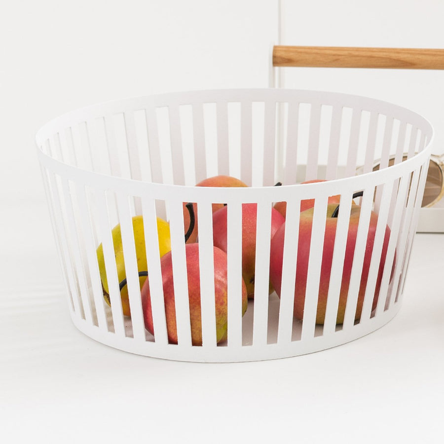 Steel Fruit Basket - Letterfolk