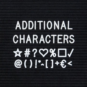 Additional White Character Set - Letterfolk
