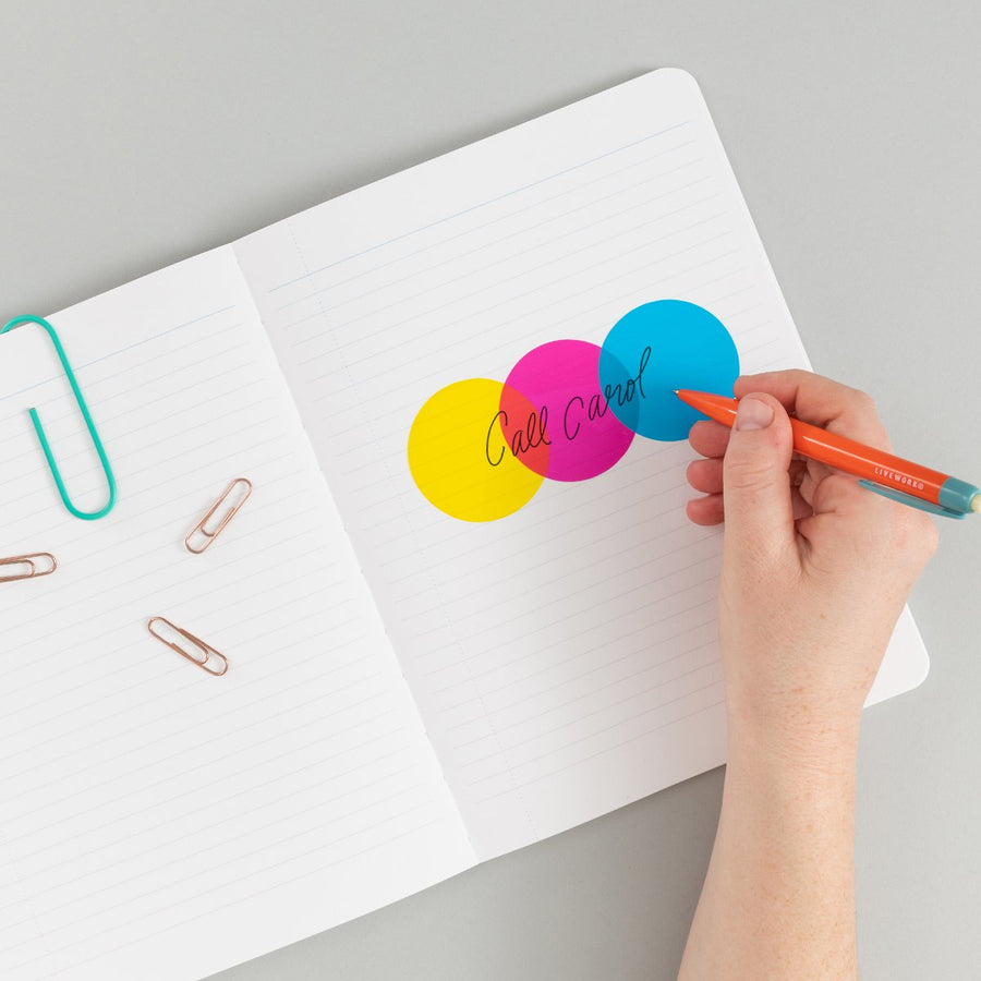 CMYK Sticky Notes - Letterfolk