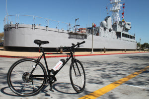 Scoozy 350 at the Battleship in San Diego California