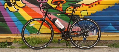 Scoozy 350 An electric bike that makes sense. Review by turbo bob out of san diego electric bikes.