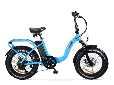Heavy Duty Blue VeeGo 750 with Cloud 9 Seat