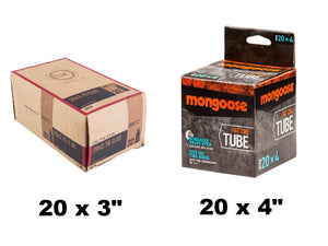 Spare Tubes for VeeGo Electric Bike