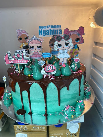 NEW - Fans Cake LARGE