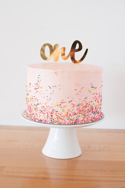 Fairy Sprinkles 3 Layer Cake