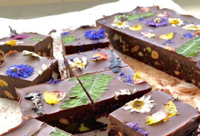 Valentines' Day Floral Chocolate Crunch