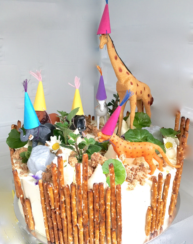 Safari Cake 3 Layer Cake
