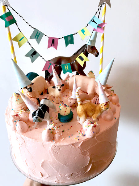 Party Animals, 3 layer cake