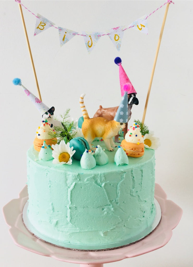 Party Animals 3 Layer Cake