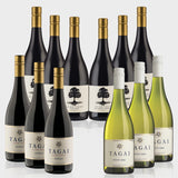 Tagai & Scar Tree Mixed Dozen - 3 Btls Tagai Shiraz, 3 Btls of Tagai Pinot Gris, 3 Btls of Scar Tree Shiraz and 3 Btls of Scar Tree Cabernet