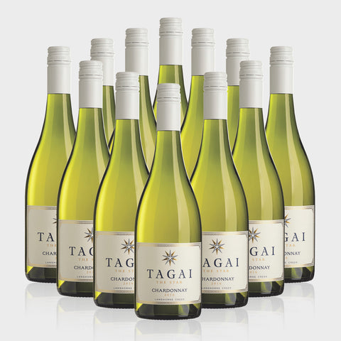 Tagai 'The Star' Chardonnay 2017 - 12 Bottles Chardonnay