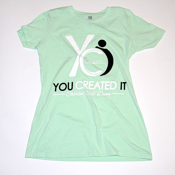Mint Green Womens T-Shirt