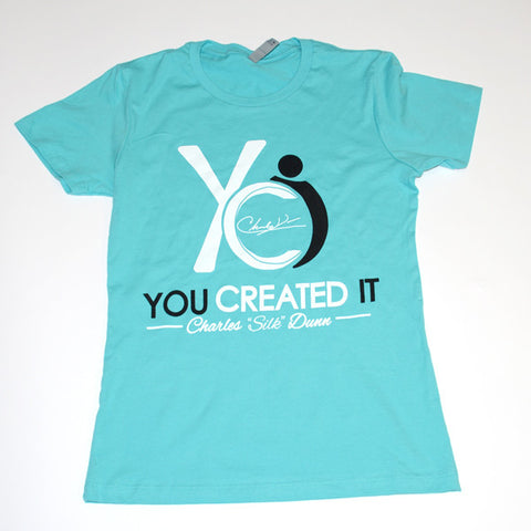 Tiffany Blue Womens T-Shirt