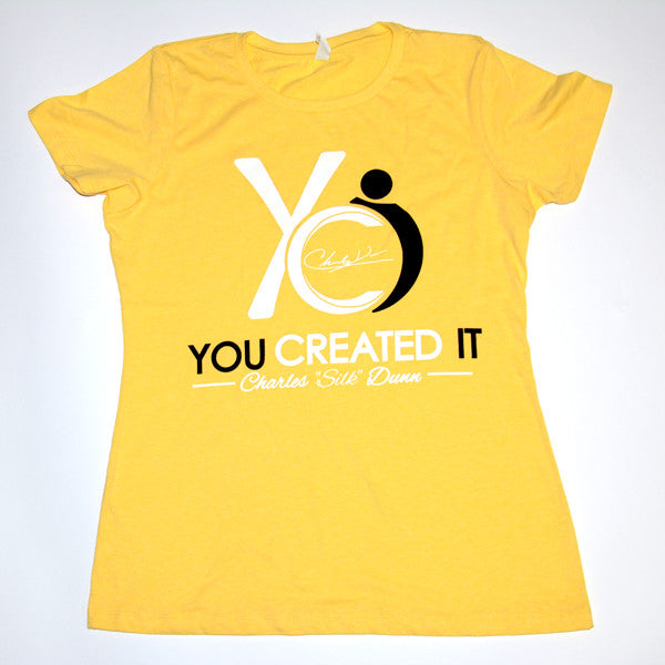 Yellow Womens T-Shirt