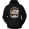 """We're More Than Just Camping Friends - We're Like A Really Small Gang"" Funny Camping Hoodie Black"