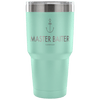 """Master Baiter"" - Stainless Steel Fishing Tumbler"