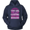 """This Girl Loves Camping With Her Husband"" - Shirts and Hoodies"