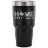 """Home Sweet Home"" - Texas Steel Tumbler"