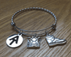 "Braided Stainless Steel ""Appalachian Trail"" Hiking Bracelet"