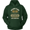 """Welcome To Camp Quitcherbitchin - A Certified Happy Camper Area"" - Funny Camping Shirts and Hoodies"