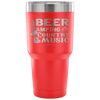 """Beer, Camping, And Country Music"" - Stainless Steel Tumbler"