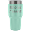 """I Need To Go Camping, It's Too Peopley Here"" - Stainless Steel Tumbler"