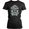 "Funny ""My Princess Name Is Drinking Beauty"" Shirts and Hoodies"