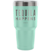 """Tequila Happens"" - Stainless Steel Tumbler"