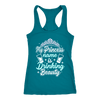 "Funny ""My Princess Name Is Drinking Beauty"" Tanks"