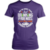 "Funny ""We're More Than Just Drinking Friends - We're Like A Really Small Gang"" - Shirts and Hoodies"
