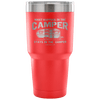 """What Happens In The Camper Stays In The Camper"" - Stainless Steel Tumbler"