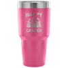"""Happy Camper"" Stainless Steel Tumbler"