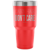 """Cabin Hair Don't Care"" - Stainless Steel Tumbler"