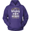 "Funny ""When I Drink Whiskey My Wife Gets Mean"" - Shirts And Hoodies"