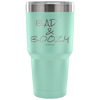 """Bad and Boozy"" - Stainless Steel Tumbler"