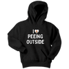 "Funny ""I Love Peeing Outside"" Camping Kids Shirts and Hoodies"