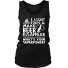 """I Light Fires And Make Beer Disappear, What's Your Superpower?"" Tank"