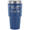 """Explore More"" - Stainless Steel Tumbler"